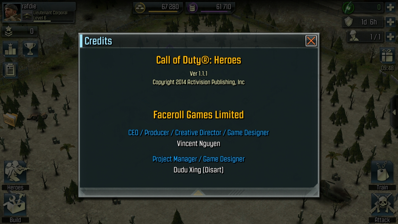 Call of Duty: Heroes (v.1.1.1) For Android