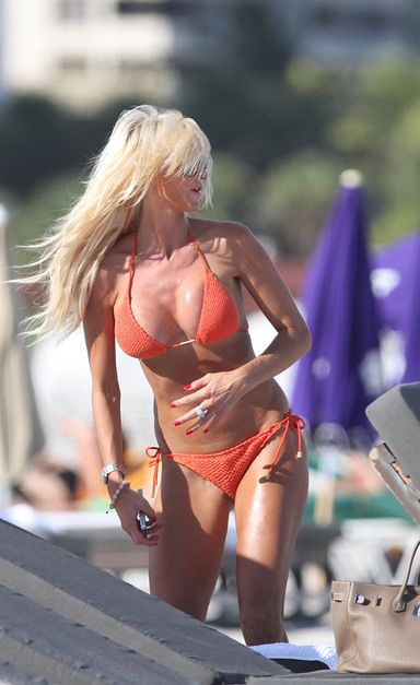 victoria silvstedt bikini 2012 11 According to MSNBC, less than two percent of girls who get pregnant before ...