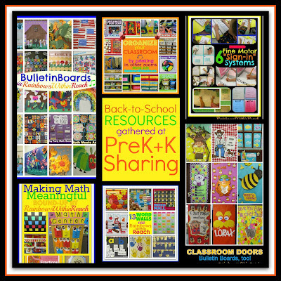 photo of: Back to School Resources of Support at PreK+K Sharing 