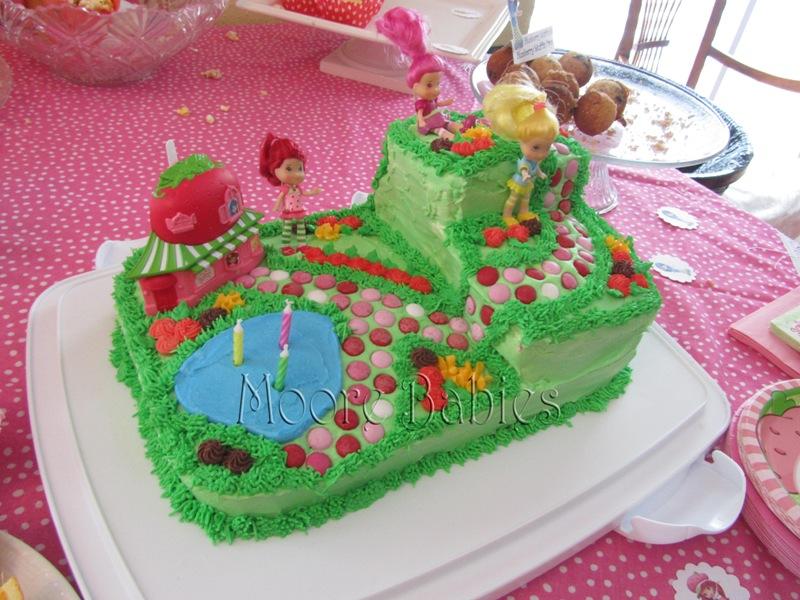 Moore Babies Strawberry Shortcake Birthday The Cake