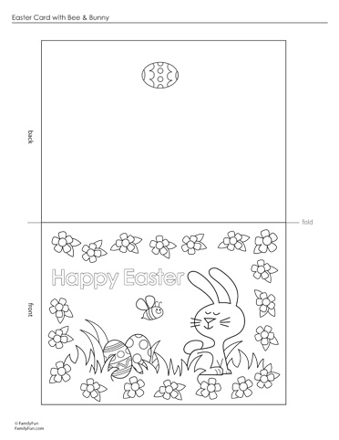 Make your Own Easter Cards Free Printable Cards  Lets Celebrate
