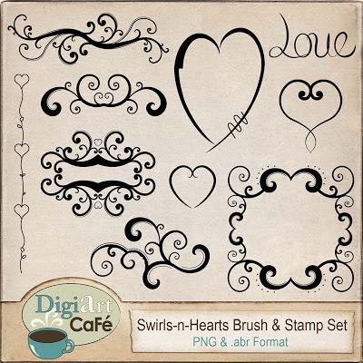 Free Brush & Stamp Set
