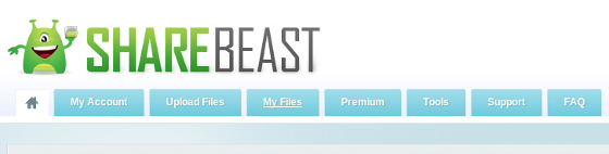 Cara Download File di ShareBeast 1