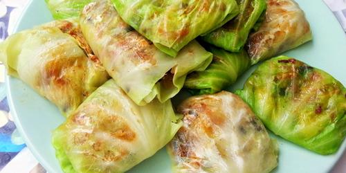 Col rellena carne y arroz recetas de cocina cocinar for Como cocinar col lombarda