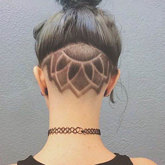 Astonishing Hidden Hair Tattoo Ideas