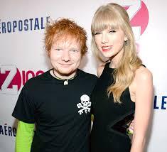 Ed Sheeran e Taylor Swift fazem parceria