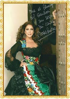 """Saludo de Isabel Pantoja para los seguidores de este blog """" El Garlochi"""""""