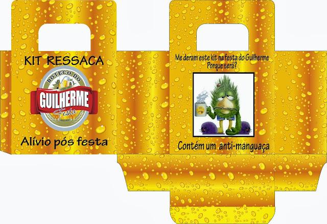 kit ressaca lembrança festa
