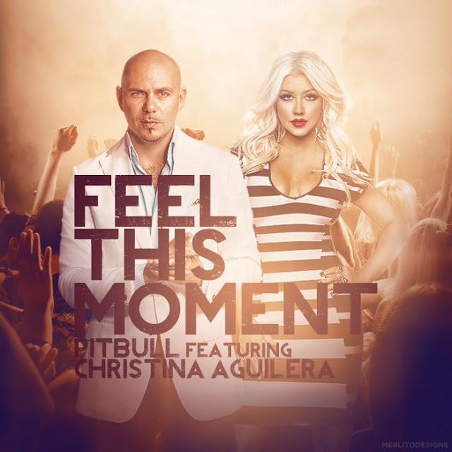 Copertina Pitbull ft Christina Aguilera - Feel This Moment