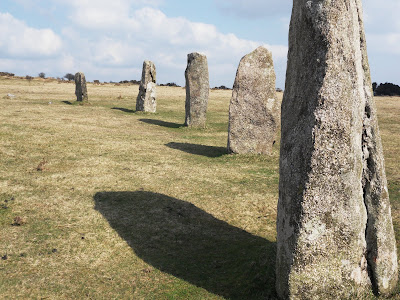 Hurlers stone circle on Bodmin Moor