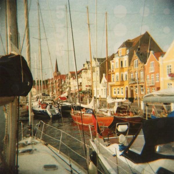 Dänemark Segeln Boot Schiff Sønderborg Sommer Analog
