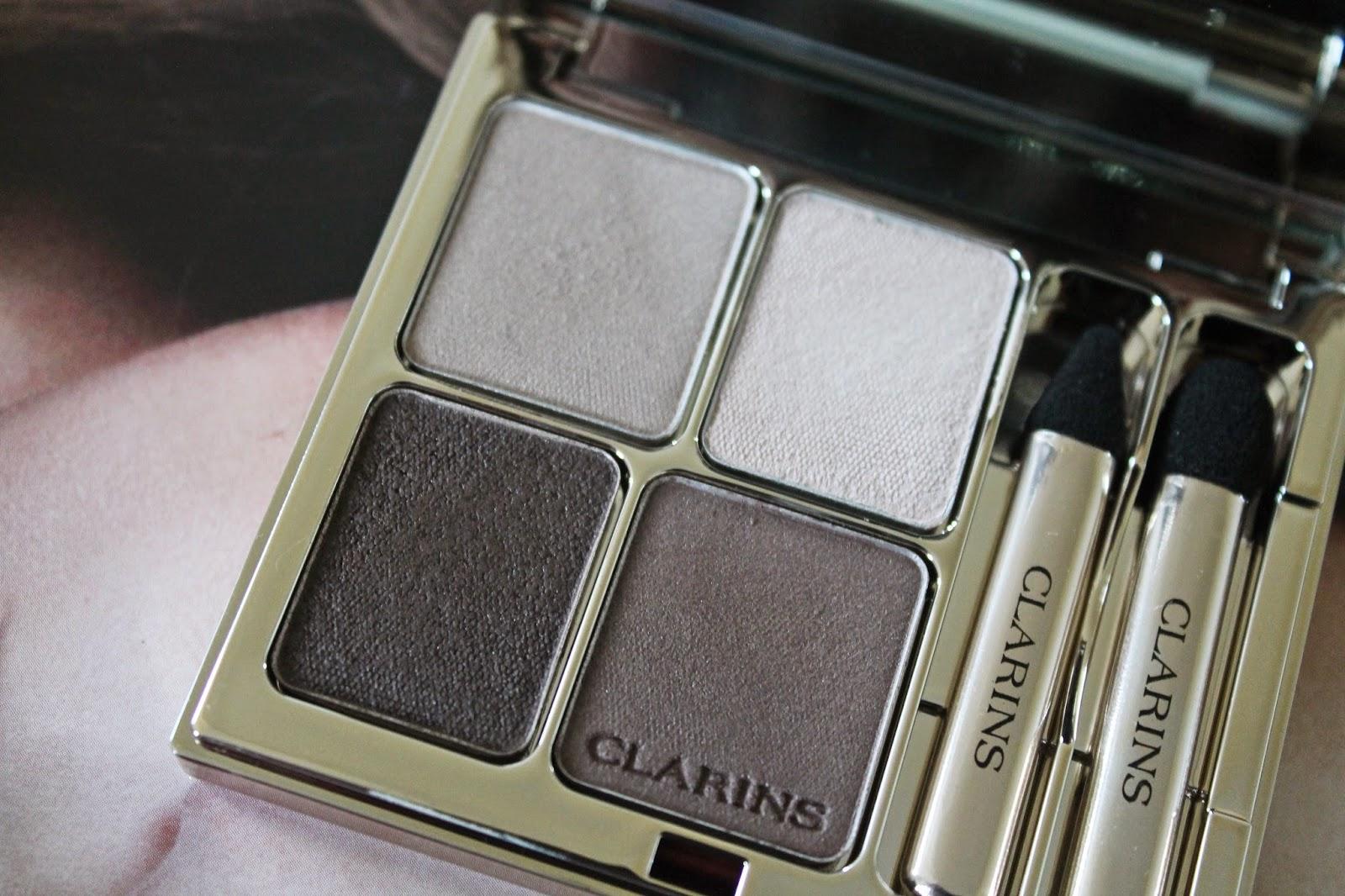 Clarins Eye Quartet Mineral Palette in Skin Tones - Aspiring Londoner