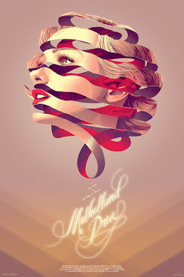 MondoCon 2015 Exclusive Muholland Drive Standard Edition Screen Print by Kevin Tong