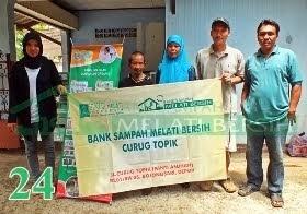 Bank Sampah Melati Bersih Curug Topik