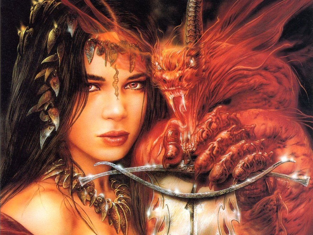 O submundo luis royo for Tattoo donne guerriere