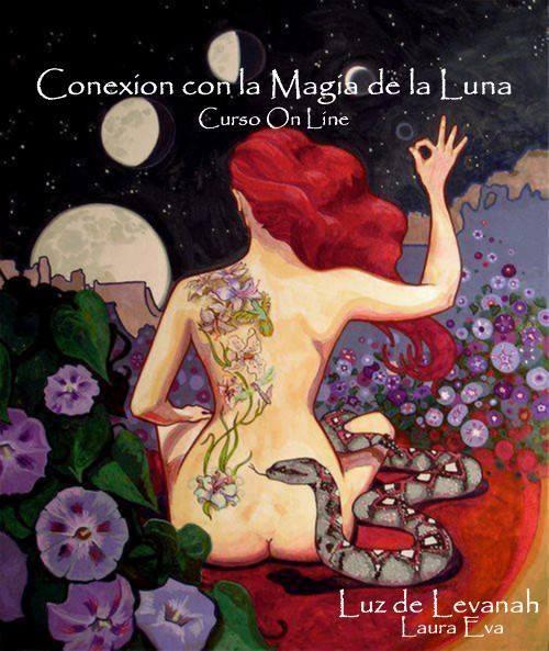 ♥ CURSO DE CONEXION CON LA MAGIA DE LA LUNA