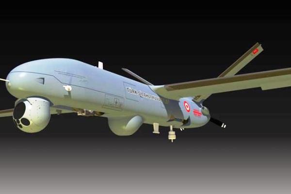 Pesawat UAV Anka MALE buatan Turki. PROKIMAL ONLINE Kotabumi Lampung Utara