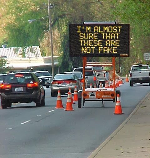 Sign Prank