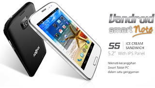 Advan Vandroid S5 Smart Note (S5N) Phablet Android 5.2 inch harga ...