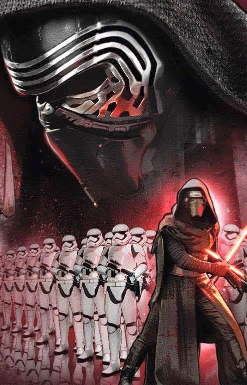 Cartel nº5 de la película Stars Wars 7 El despestar de la fuerza
