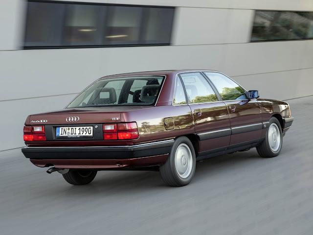 Audi 100 - terceira geração