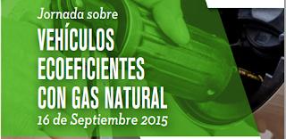 Gasmocion presente en las jornadas sobre vehículos ecoeficientes con gas natural.