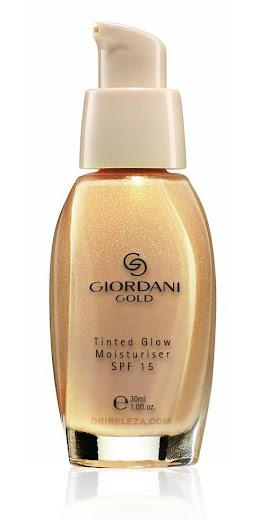 Hidratante com Cor e SPF 15 Glow Giordani Gold da Oriflame