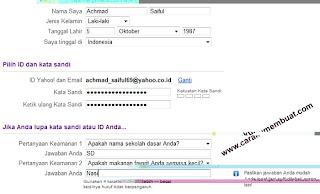 form pendaftaran yahoo 1