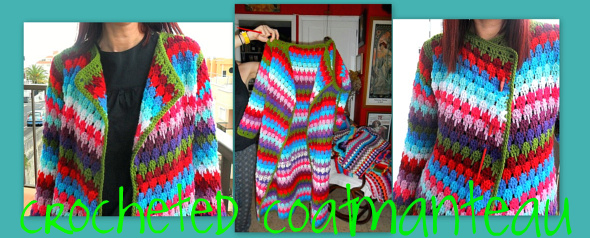crochetingclub: versionando: larksfoot stitch