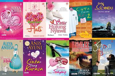 10 Novel Alaf 21 Terlaris Minggu Pertama Ogos 2011