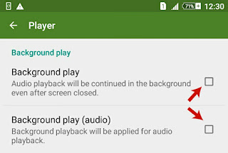 Background Playback for Audio/Video