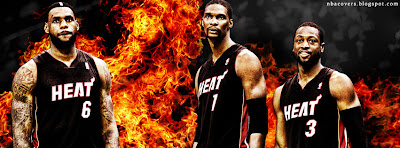 Miami Heat Facebook Cover Photo