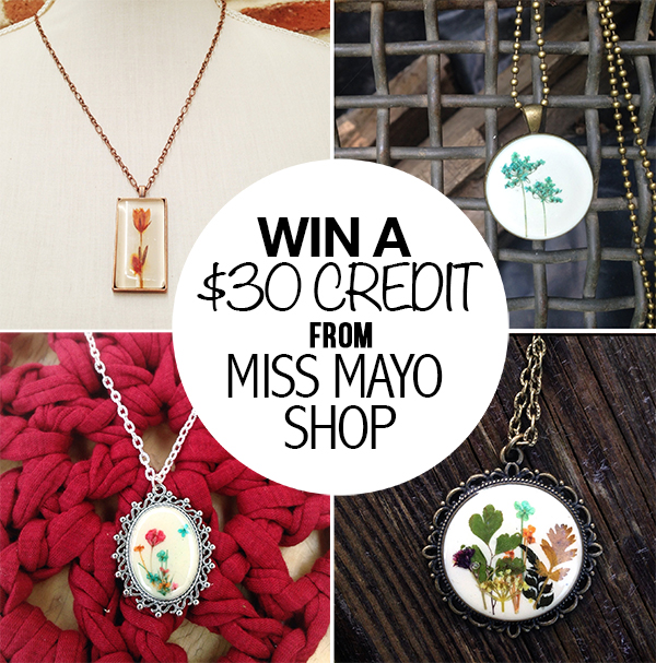 Miss Mayo Shop Giveaway - littleladylittlecity.com