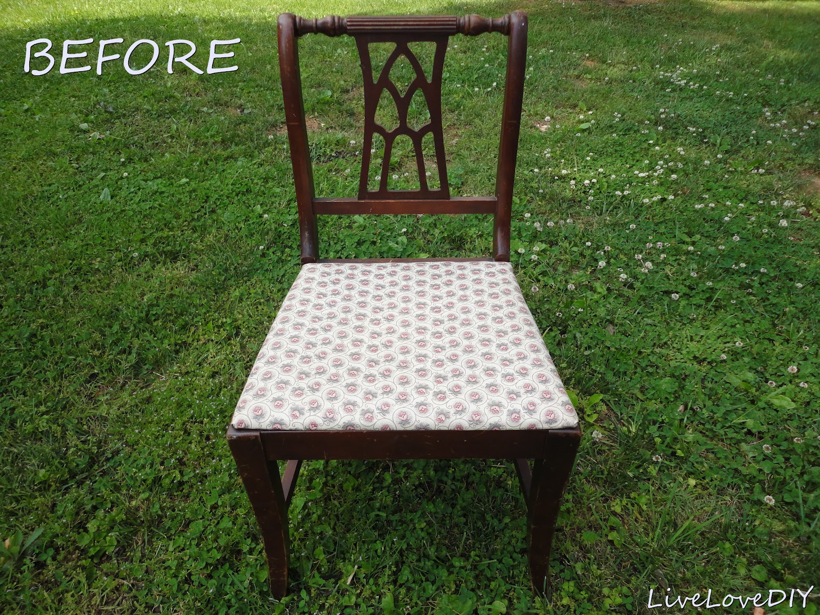 how to use fabric paint on a chair