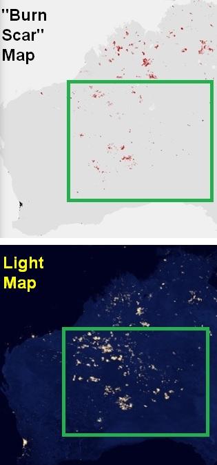 Australia mystery lights