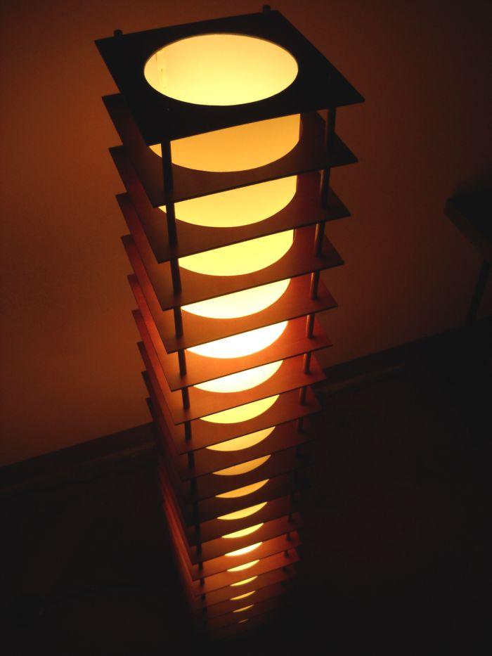 Gobo - Como hacer lamparas de pie ...