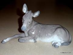 Lladro Donkey #01389
