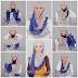 Tips Cara Memakai Jilbab Selendang Kreasi Terbaru