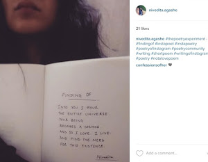 The Poetry Experiment on Instagram.