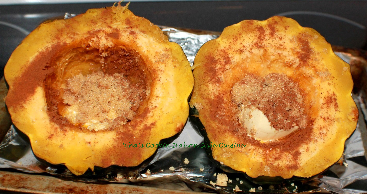 Baked Acorn Squash Recipe | What's Cookin' Italian Style ...