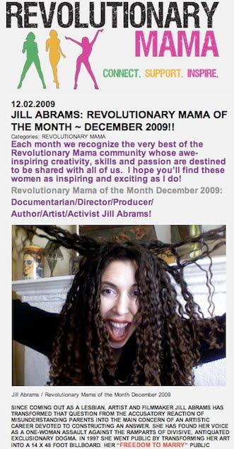 REVOLUTIONARY MAMA ~ 2009