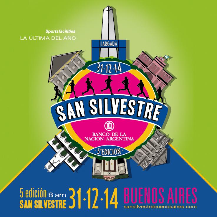 San Silvestre Buenos Aires 2014