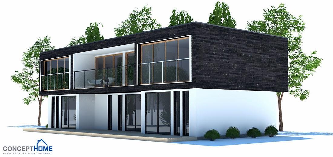 Projetos de casas projeto de casa contempor nea e moderna for Casa moderna kw