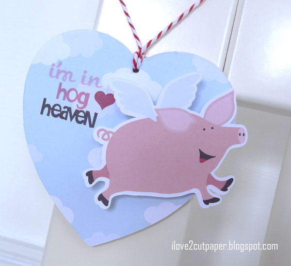 Hog Heaven, valentine, ilove2cutpaper, LD, Lettering Delights, Pazzles, Pazzles Inspiration, Pazzles Inspiration Vue, Inspiration Vue, Print and Cut, svg, cutting files, templates,
