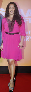 Actress Vidya Balan Pictures in Pink Short Dress at Shaadi Ke Side Movie Trailer Launch 0011.jpg