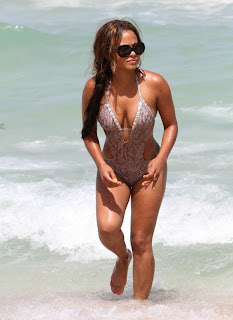 Christina Milian  in Miami