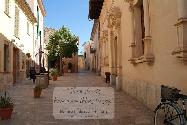 Silent streets have many things to say - Where do you think this picture was taken?