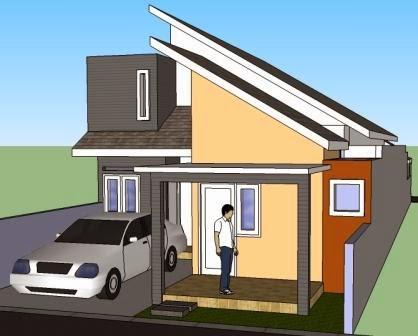 desain rumah minimalis idaman