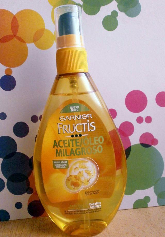 Fructis Nutri Repair 3 Aceite Milagroso de Garnier 150 ml/ 7,95 \u20ac.