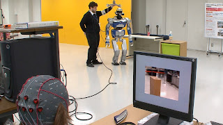 Robot Canggih dengan Sistem Kendali Pikiran